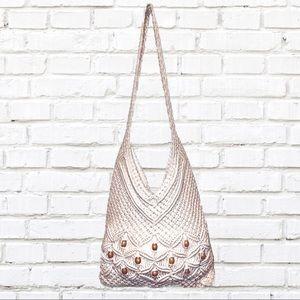 Bohemian Crochet Handbag